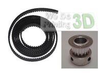 3D Printer T2.5 Timing Belts and 8mm Shaft Pulleys Ideal for Reprap Prusa Mendel