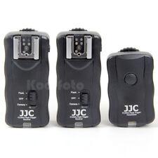 Kodifoto   JJC Mando Disparador 2 Flash Luces Estudio Canon Nikon Pentax Leica