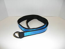 Reflective EMT, Paramedic, NYPD, FDNY, Police, Fire, D- Ring Belt Small 24-30""