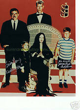Loring & Weatherwax Addams Family  Autograph UACC RD 96