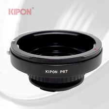 New Kipon Adapter for Pentax 67 P67 Mount Lens to Pentax K PK Camera