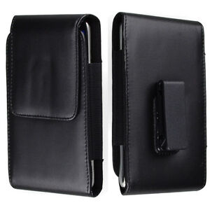 Premium Leather Phone Holster Case Carry Pouch Blet Clip For iPhone 12 Pro Max