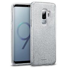 Handy Hülle für Samsung Galaxy S9 Plus Hülle Silikon Cover Glitzer Slim Case