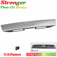 Tailgate Handle & Metal Bracket & Logo sticker  For Scion tC 2005-10 Silver 1F7