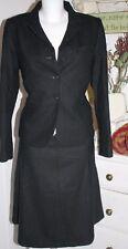 & bonita Woll-rock skirt Jacket Cool Girl black size: s nuevo