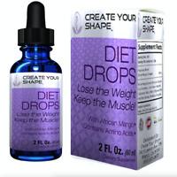 Diet Drops Weight Loss Supplement Lean Health Herb 1234 Fat Burner