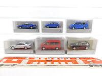 CG330-0,5# 6x Wiking H0/1:87 Modell VW: Touareg+Polo+Multivan+Phaeton, NEUW+OVP