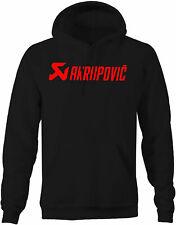 Akrapovic Performance Motorcycle Powersports Racing Mens Hoodies for Men