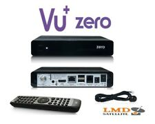 100% Original VU + CERO Negro Full HD 1080p*DVB-S2 HD * usb * RS 232 * LAN * MIPS CPU