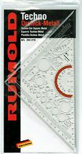 Rumold TECHNO -Set DIN 406 Zeichen - Dreieck METALL Zeichenschablone