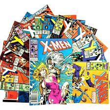 Uncanny X-Men 15 Comic Book Lot Marvel VF Copper Age Wolverine Juggernaut