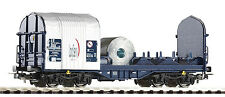 Piko 54396 Güterwagen offener Schiebeplanenwagen Shimmns Logserv H0