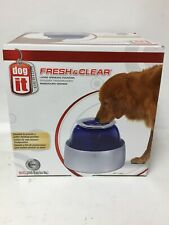 Dogit 73651 - Fresh & Clear Elevated Dog Water Bowl, Large, 10.5L Capacity