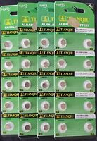 40 LR60 AG1 364 LR521 165 1.5V Alkaline Battery Watch Exp 2021 USA SHIP
