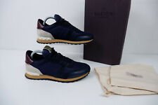 Valentino Mens Sneakers, Navy Blue, Size Uk 6 Eu40 Navy Blue, VGC