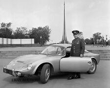 Matra 1962 Rene Bonnet automobile photo photograph press campaign photo