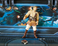 STAR WARS FIGURE 2002  CLONE WARS OBI-WAN KENOBI GENERAL OF THE REPUBLIC ARMY