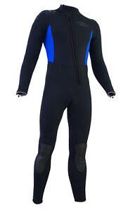 Herren 5mm Halbtrocken FullSuit Neoprenanzug Tauchanzug Neo bis 8XL Übergrösse