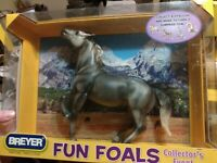 "Breyer Horse #1373 FUN FOALS Collector's Event ""Dappled Grey Stallion"""