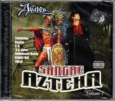 Dyablo , Profeta Records. sANGRE Azteka  Chicano Rap, r&b, Espanol [CD New]