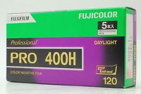 [Brand New] FUJIFILM FUJICOLOR Pro 400H 120 film x5 From JAPAN