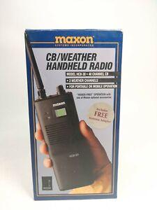 Maxon HCB-30A 40 Channel Weather CB Handheld Radio