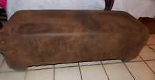 Brown Microfiber Animal Print Ottoman / End of Bed Bench  (BN120)