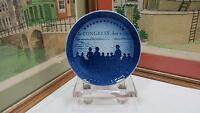 "B & G BING AND GRONDAHL IN CONGRESS 1776 BICENTENNIAL 7 1/8"" COMMEMORATIVE PLATE"