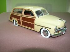 PERFECT!  DANBURY MINT 1/24 1949 MERCURY WOODY WAGON!  (Car and title only)
