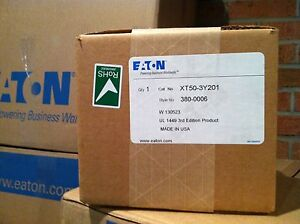 Brand New!!  Eaton Innovative Technology (IT) Surge Protector/SPD XT50-3Y201