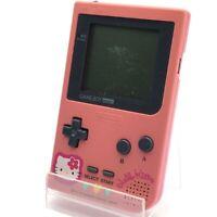 "Hello Kitty Game Boy Pocket Limited Nintendo Sanrio Japan Ver Pink ""Good"""
