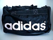 Adidas Black Large Tote Gym Bag with Shoulder Strap & Pink Lettering
