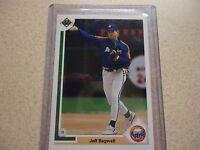 1991 Upper Deck Jeff Bagwell Houston Astros #755 Baseball Card