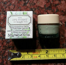 Benefit IT'S POTENT Brightening Eye Cream, 0.1-oz. SAMPLE SIZED ITEM