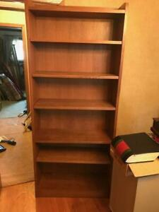 Stickley Solid Oak 6 shelf open Book Case