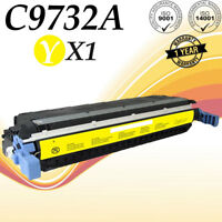 1PK C9732A Yellow Color Toner  For HP LaserJet 5500 5500DTN 5500DN 5550N printer