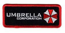 Resident Evil Umbrella Corporation Morale Hook Fastener patch (4.0 x 1.5)