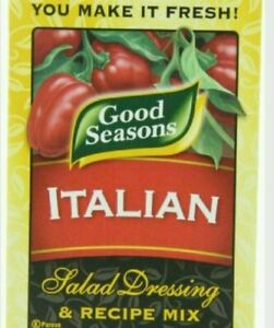 New Lot 24 Packets Good Seasons Italian Salad Dressing & Recipe Mix