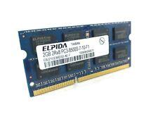 Elpida 2GB PC3-8500 DDR3 1066 204-Pin Laptop RAM EBJ21UE8BDS0-AE-F