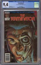The Terminator #1 CGC 9.4 NM Wp Now 1988 Rare Double Cvr Variant 1st 9.0 2nd 9.4