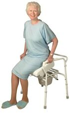 Commode Assist Lifting Chair Positioning Seat Toilet Bathroom Helper Carex