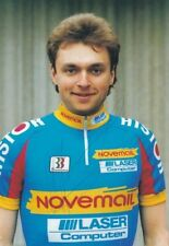 CYCLISME carte cycliste DIMITRI ZHDANOV équipe NOVEMAIL signée