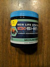 New Life Spectrum Ick-Shield Medicated Fish Food Medium Fish Sinking Pellet 125g