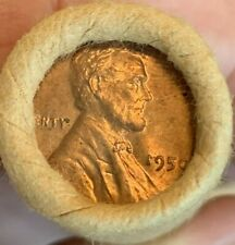 $ 1950 P *Cent Roll*Original*Unopened *Vintage *Red *70 Year Old *Choice Roll