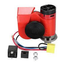 12V Drucklufthorn Hupe Lufthorn Druckluft Horn mit Kompressor Für LKW PKW Boot