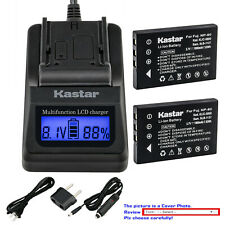 Kastar Battery LCD Fast Charger for Kodak KLIC-5000 Kodak EasyShare Z760 Camera