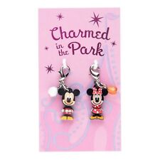 Disney Parks Charmed In The Park Mickey and Minnie Mouse Charm Set Dangles
