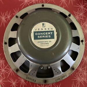 "Vintage Jensen C10s 8 ohm concert series speaker 10"" fender"