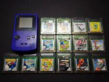 Game Boy Color Konsole + 14 Spiele + Neue Scheibe !!! Top Zustand !!! Nintendo