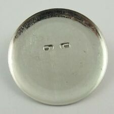 30140 Silver Tone Metal Round Pin Brooch Setting 35*35mm Jewellry Finding 60pcs